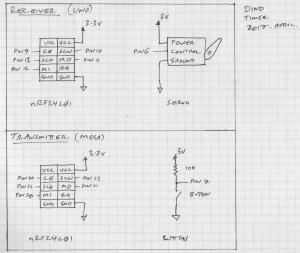 Dino Timer circuit diagram