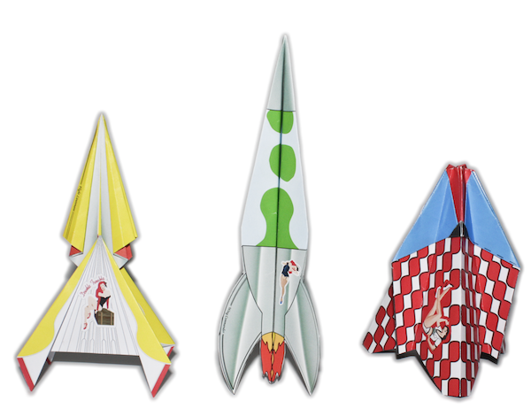 Carl Turner rocket fleet